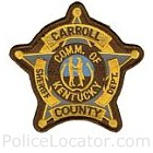 Carroll County Sheriff's Department Patch