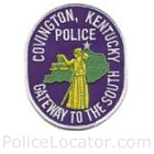 Covington Police Department Patch