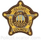 Elliott County Sheriff's Department Patch