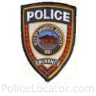Eminence Police Department Patch
