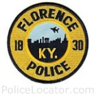 Florence Police Department Patch
