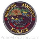 Grayson Police Department Patch