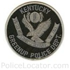Greenup Police Department Patch