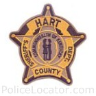 Hart County Sheriff's Department Patch