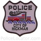 Hickman Police Department Patch