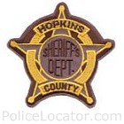Hopkins County Sheriff's Office Patch