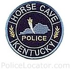 Horse Cave Police Department Patch