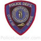 Irvine Police Department Patch