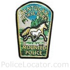 Kentucky Horse Park Mounted Police Patch