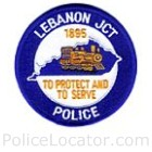 Lebanon Junction Police Department Patch
