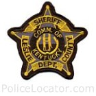 Leslie County Sheriff's Office Patch
