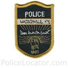 Madisonville Police Department Patch