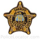 Marion County Sheriff's Department Patch
