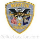Martin Police Department Patch