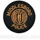 Middlesboro Police Department Patch