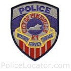 Pikeville City Police Department Patch
