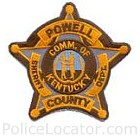 Powell County Sheriff's Department Patch