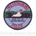 Prestonsburg Police Department Patch