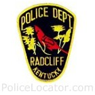 Radcliff Police Department Patch