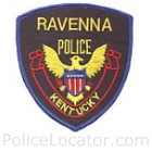 Ravenna Police Department Patch