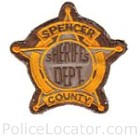 Spencer County Sheriff's Department Patch