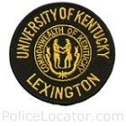 University of Kentucky Police Department Patch