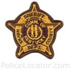 Wayne County Sheriff's Department Patch
