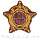 Wolfe County Sheriff's Department Patch
