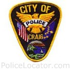 Craig Police Department Patch