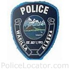 Wasilla Police Department Patch