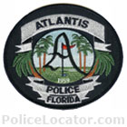 Atlantis Police Department Patch