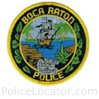 Boca Raton Police Department Patch