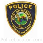 Bonifay Police Department Patch
