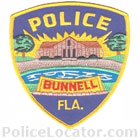 Bunnell Police Department Patch