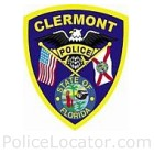 Clermont Police Department Patch