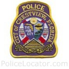 Crestview Police Department Patch