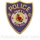 DeLand Police Department Patch