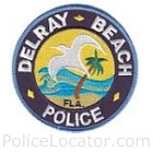 Delray Beach Police Department Patch