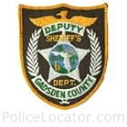 Gadsden County Sheriff's Office Patch