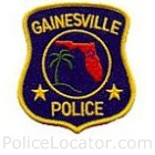 Gainesville Police Department Patch