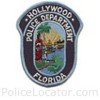 Hollywood Police Department Patch