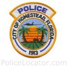 Homestead Police Department Patch