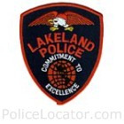 Lakeland Police Department Patch