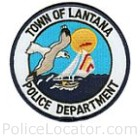 Lantana Police Department Patch