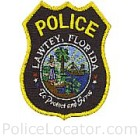 Lawtey Police Department Patch