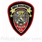 Melbourne Police Department Patch