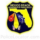 Mexico Beach Police Department Patch