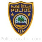 Miami Beach Police Department Patch