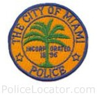Miami Springs Police Department Patch