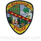 Palm Beach Gardens Police Department Patch